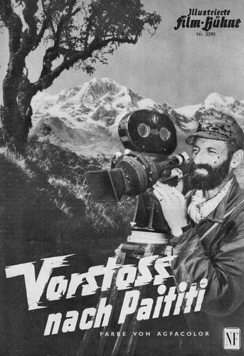 Hans Ertl, a German mountaineer and cinematographer
