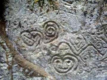 Petroglyphen von Pusharo, Peru