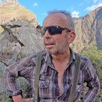 Ceslav Cieslar, Paititi researcher, during expedition 2019
