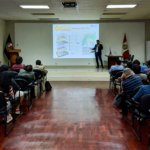 Presenting Paititi Research project at the Universidad Nacional de Ingeniería (UNI)